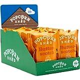 Capanno per popcorn | Vegan Butterscotch Gourmet Popcorn Snack Pack, 24 g, confezione da 16 | Vegan Butterscotch popcorn…