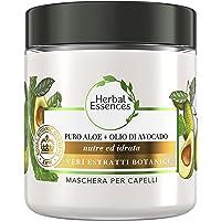 Herbal Essences Maschera Per Capelli Con Puro Aloe + Olio Di Avocado, In Collaborazione Con Royal Botanic Gardens, Kew…