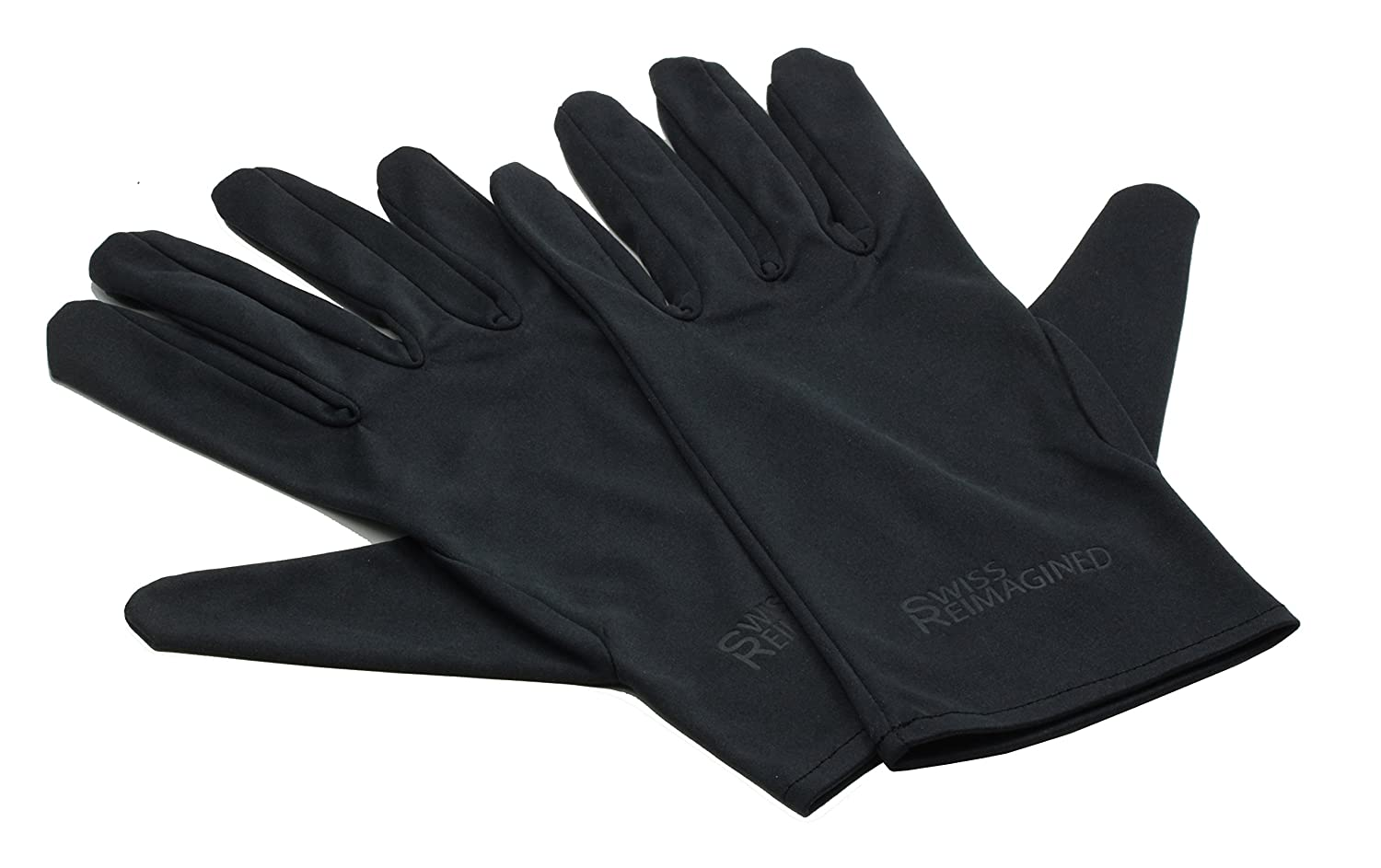 Black microfiber jewelry gloves - Extra Small Black Touchscreen Compatible Lint Free Microfiber Inspection Gloves Amazon Co Uk Clothing