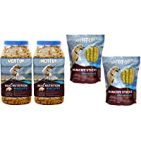 Meat Up Munchy Sticks, Chicken Flavour, Dog Treats, 700 g (Buy 1 Get 1 Free), 700 g&Mutton Flavour , Real Chicken…