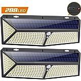 VOOE Lampe Solaire Extérieur 288 LED [2020 USB et Solaire charge ]Lumière Solaire Etanche éclairage Solaire avec…