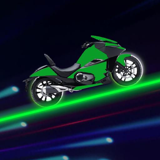Neon Steigen Fahrer | Potenza Spiel