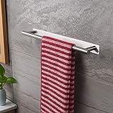 ZUNTO Porte-serviettes auto-adhésif sans perçage en acier inoxydable 40 cm