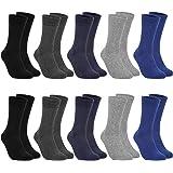 FREEZHOUSHANA Calcetines para Hombre y Mujer, Calcetines de vestir de algodón para empresas, calcetines deportivos clásicos (