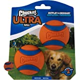 Chuckit! Hundboll, 2 st, Orange/Blå