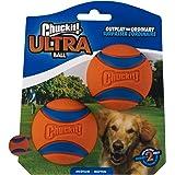 Chuckit! Ultra Ball Medium 2-pack, Single, Medium, oranje/blauw.