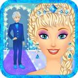 Snow Queen Wedding Salon: Ice Princess Bride Spa, Makeup and Dress Up - Girls Games