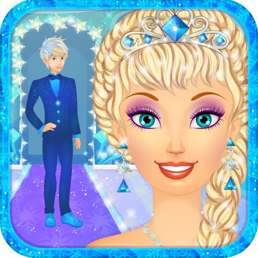 Snow Queen Wedding Salon: Ice Princess Bride Spa, Makeup and Dress Up - Girls Games