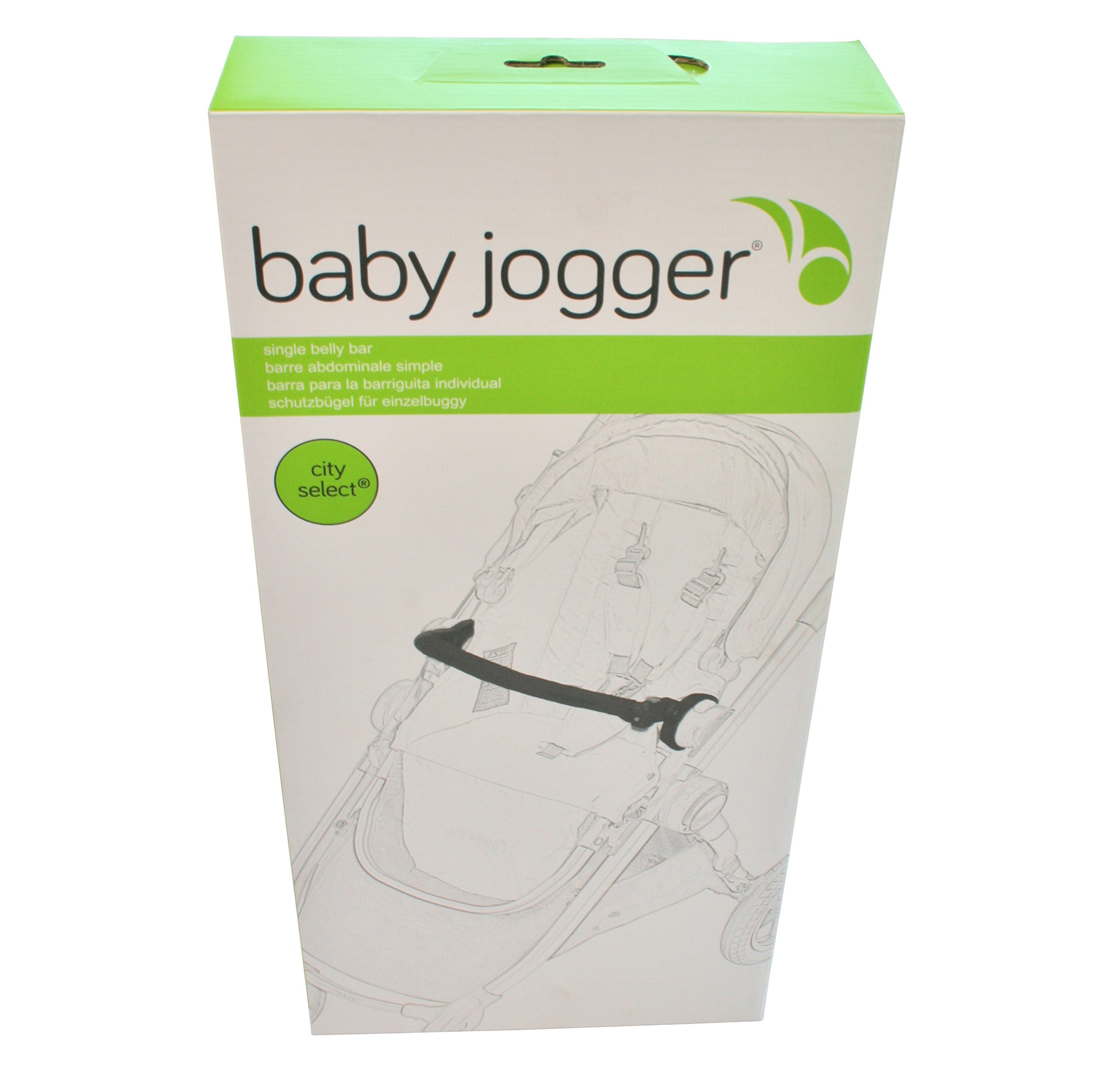 Baby Jogger Belly Bar For Select Stroller Black Baby Jogger  3