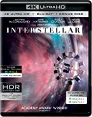 Interstellar (4K UHD + Blu-ray + Bonus Disc) (3-Disc Box Set)