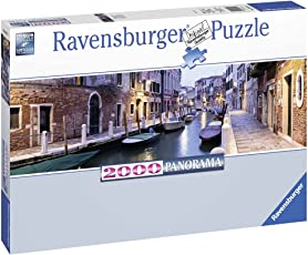 Ravensburger Puzzles Evening in Venice, Multi Color (2000 Piece Panorama)