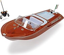 Dickie Toys 201119067 - RC Boat Bella Luisa, funkferngesteuertes Boot mit 30 Metern Reichweite, 45 cm
