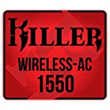 Rivet Networks Killer™ Wireless-AC 1550 Lag and Latency Reduction Gaming Notebook WiFi Modul