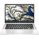 """HP Chromebook 14a-na0004ns - Ordenador portátil HD de 14"""" (Intel Celeron N4020, 4GB RAM, 64GB eMMC, Gráficos Intel UHD 600, S"""