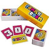 FAMILY BOOM - Le jeu de Societe pour Toute la Famille - 300 Cartes Variées et Fun, Jeu d'ambiance Familles, Jeu de Societe Fa