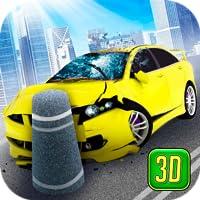 Ragdoll Car Turbo Crash Demolish Test – City Drifting Vehicles
