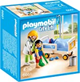 Playmobil 6661 - Ärztin am Kinderkrankenbett