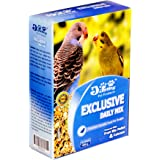 JiMMy Mix Fruit Pellets and Calcium Bird Food for Budgies, 400 g