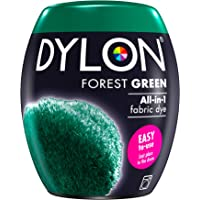 DYLON Washing Machine Fabric Dye Pod for Clothes & Soft Furnishings, 350g – Forest Green