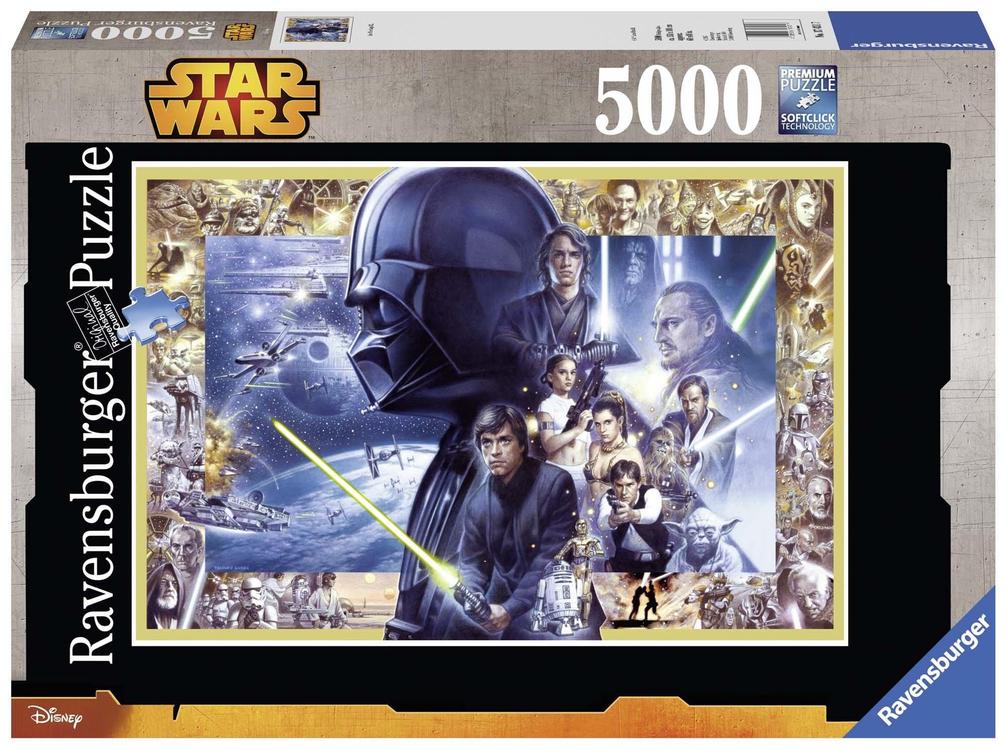 Star Wars – Puzzle, 5000 Piezas (Ravensburger 17431 7)