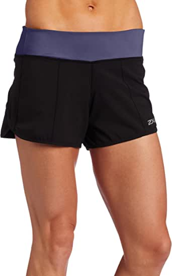 2 x U Cross Sport Short pour Femme, Femme, BlackTwighlight