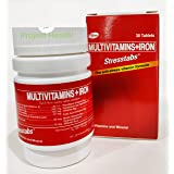 Stresstabs Multivitamins + Iron - 30 Tablets