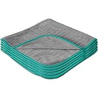 LAVANDOLA® 5x Premium Chiffons de Nettoyage pour la Maison - Chiffons en Microfibres sans Peluches pour un e Brillance…