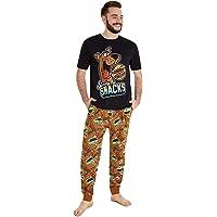 Scooby Doo Men's Pyjama Sets, Mens Funny Pajamas S, M, L, XL, 2XL