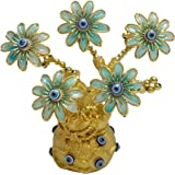 Ethnic Karigari Evil Eye Tree for Protection, Feng Shui Good Luck, Prosperity, Gift, Showpiece and Home Decor