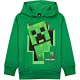 Vanilla Underground Minecraft Creeper Inside Boys Sudadera con Capucha Verde Gamer Kids Sweater