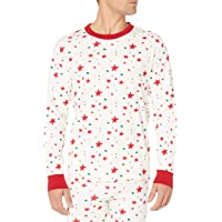 Moon and Back by Hanna Andersson Unisex's Organic Holiday Family Matching Long John Pajama Top
