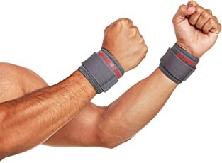 SportSoul Wrist Support - Pack of 2 (Free Size)