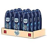 Neutromed Sport Bagnoschiuma Uomo Energizzante, Docciashampoo per Corpo e Capelli, Confezione da 12 pezzi x 250 ml