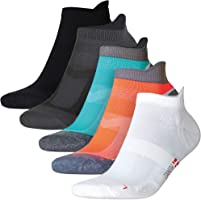 DANISH ENDURANCE Low-Cut Sportsocken im 5er oder 3er Pack, Damen & Herren, Kurze Sneakersocken, Laufsocken,...