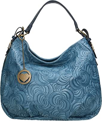 Chicca Borse Bag Borsa a Mano in Pelle Made in Italy 33x33x13 cm