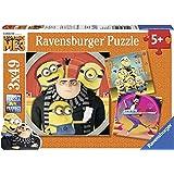 Ravensburger Kinderpuzzle 08016 Abenteuer mit den Minions Kinderpuzzle