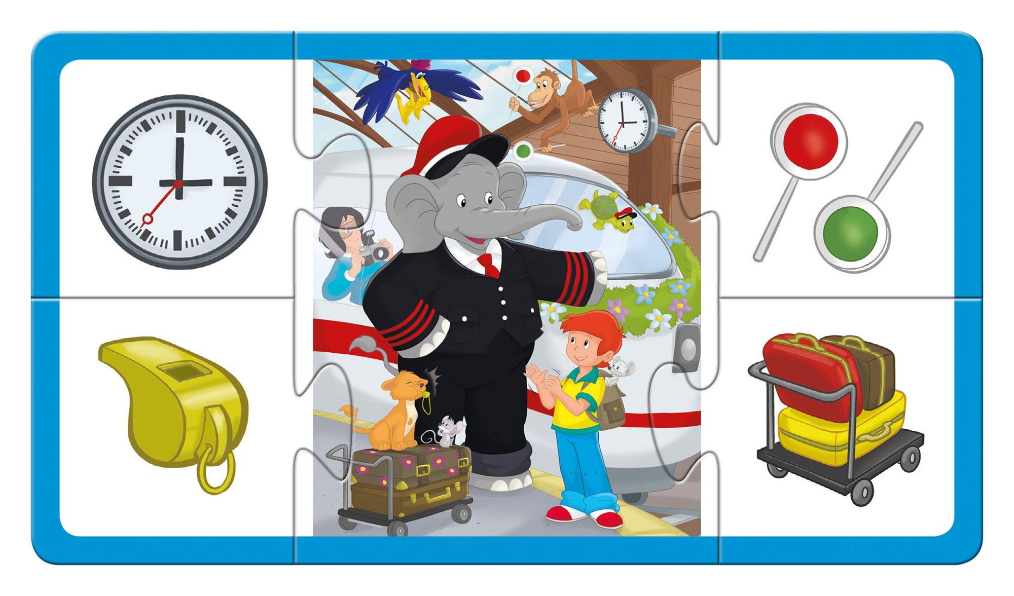 Schmidt-Spiele-51408-Benjamin-The-Elephant-51408-Benjamin-Blmchen-blau