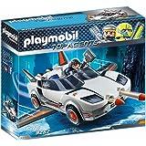 Playmobil Voiture de L'Agent Pilote, 9252