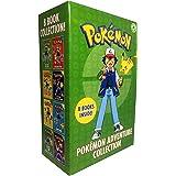 The Official Pokemon Adventure Collection 8 Books Box Set (Ash's Big Challenge, Pokémon Peril, The Orange League, Scyther Vs