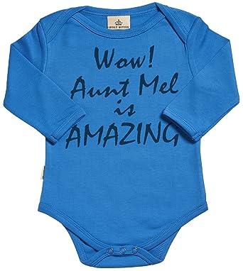 Sr personalised wow custom is amazing organic baby grow baby sr personalised wow custom is amazing organic baby grow personalized baby clothing personalised negle Choice Image