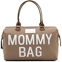 CHQEL Baby-Wickeltasche, Mommy-Taschen für Krankenhaus und funktionelle große Baby-Wickeltasche für die Babypflege…