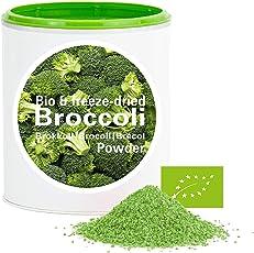 Brokkoli – Bio Brokkoli gefriergetrocknet |bio organic| freeze-dried broccoli| good-Gemüse von good-smoothie| 100% Gemüse |ohne zusatzstoffe + viele Inhaltsstoffe| 60g
