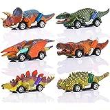 ATOPDREAM Coche de Juguete de Dinosaurio Año Nuevo para Niños.