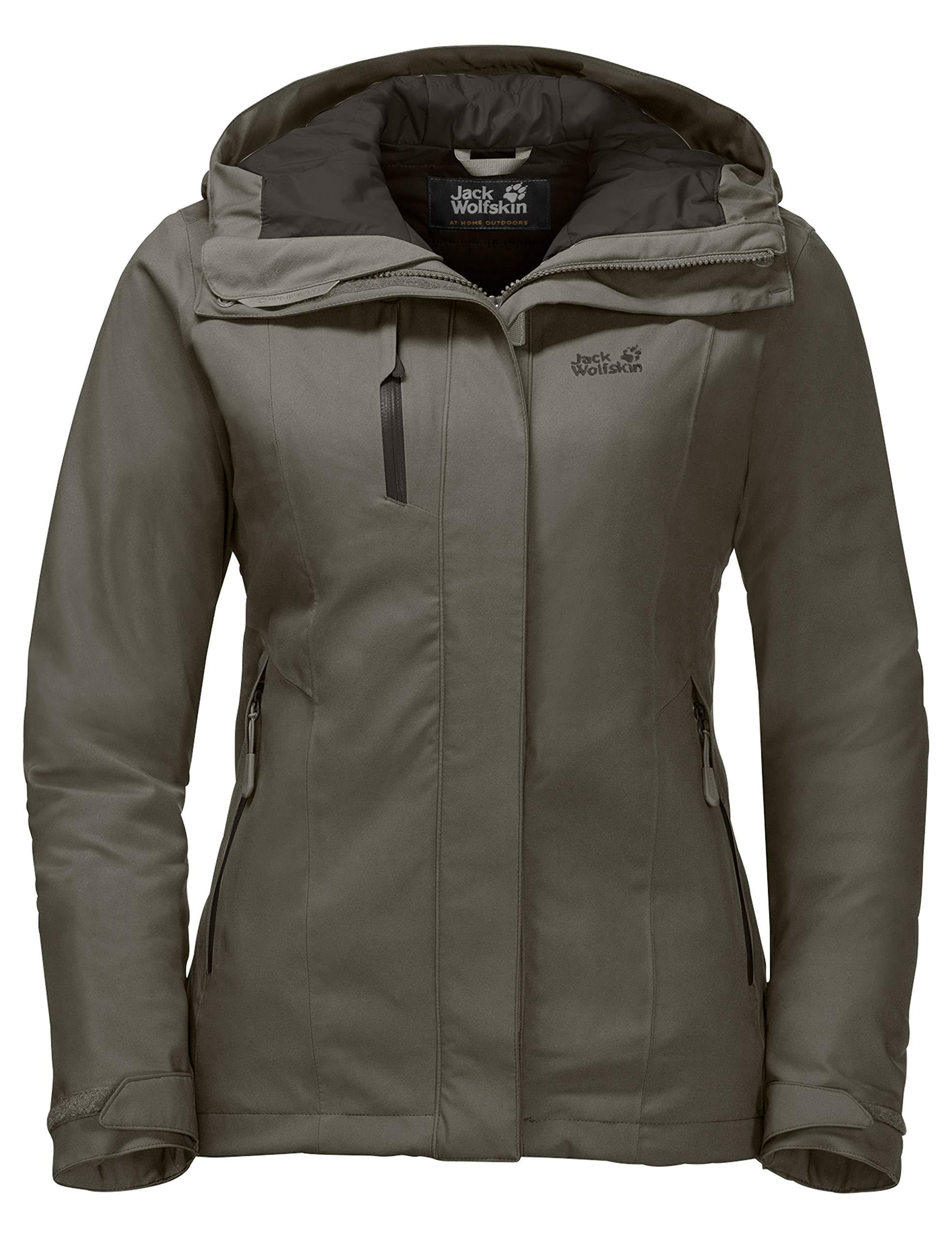 81b 9HcH3kL - Jack Wolfskin Women's Troposphere Winterwanderjacke Wasserdicht Winddicht Atmungsaktiv Weather Protection Jacket