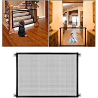 Safe-O-Kid Premium Quality, Pet Safety Fence, Portable Folding Safety Mesh/Gate for Pets/Baby, Size-1.1 Meter- Small