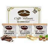 Caffè Vulcanus - Kit assaggio 60 cialde compostabili ESE44 di caffè aromatizzati - Degustazione caffè al ginseng…