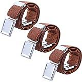 AWAYTR Cinturón magnético elástico para niños pequeños - Cinturones elásticos con hebilla ajustable Cinturones para niños, ni
