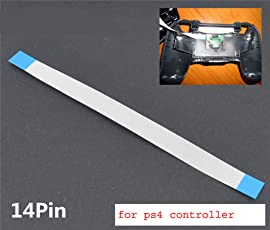 New World 14 Pin Power Switch Ribbon Cable for Sony PS4 Playstation 4 Controller Flex Cable 1 Piece