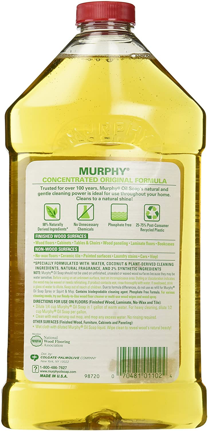 Cleaning hardwood floors with murphy oil soap - Murphy Oil Soap Concentrate Bottle 946ml 32oz Co Uk Kitchen Home