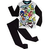 Teen Titans Go! Pijama Niño, Ropa Niño de Superheroes, Pijamas Niños de Dos Piezas Camiseta Manga Larga y Pantalon, Regalos p